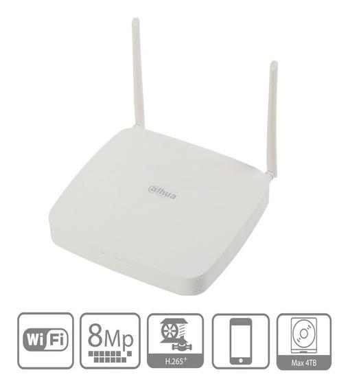 Dahua Nvr2108-w-4ks2 Nvr Wifi 8ch 4k 2.4ghz H265+ Onvif 2.4