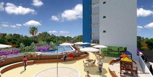 Apartamento À Venda, 71 M² Por R$ 480.000,00 - Manaíra - João Pessoa/pb - Ap0029