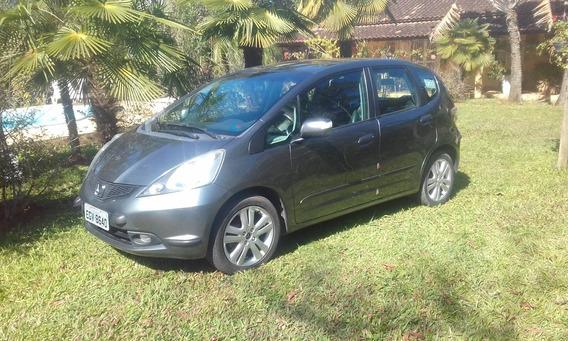 Honda Fit 2009 Exl Flex 1,5 L Ar Cond, Vidros E Retrov Eletr