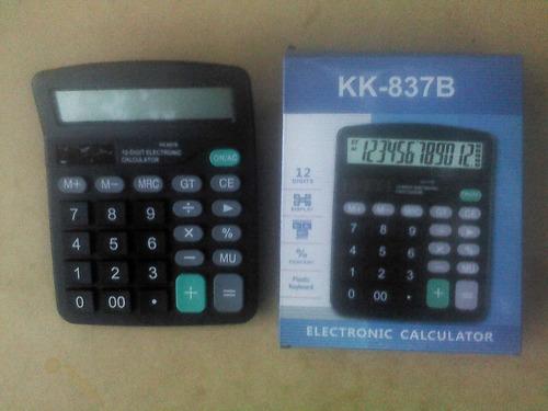 Calculadora 12 Dígitos Tipo Casio