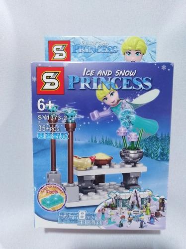 Lego Símil  Frozen 2 Unidades Elsa Y Olaf Bloque.marca Sl