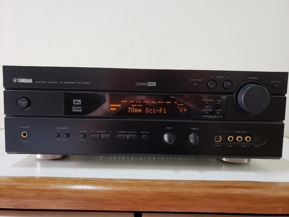 Receiver Yamaha Rx-v630 5.1/6.1 Para Home Theater