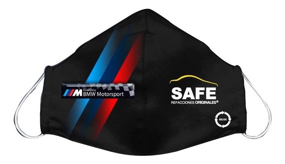 Cubre Boca Bmw Motorsport Bandera Edición Safe Refacciones