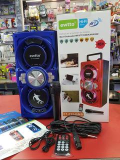 Parlante Portatil Bluetooth+mic+control. 35.5 Alt. Tomo Art