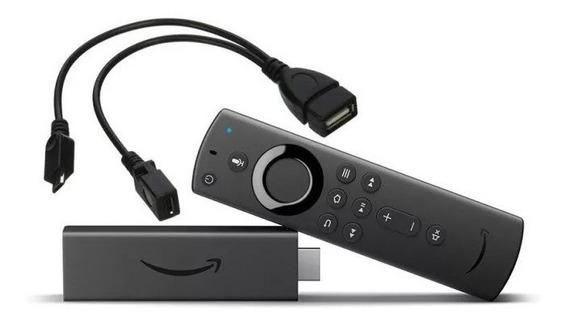 Cabo Adaptador Usb Mouse Teclado Amazon Fire Tv Stick Otg