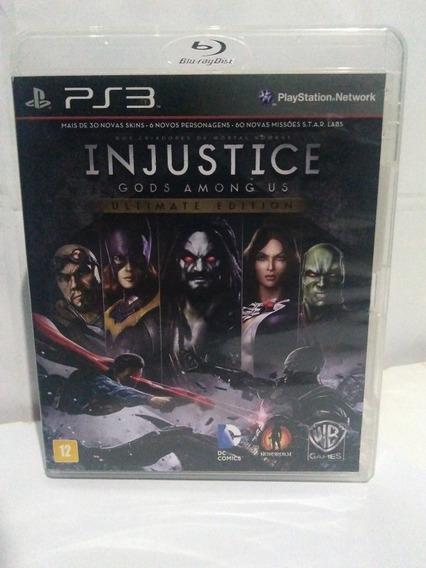 Jogo Injustice Gods Among Us Ps3 Ultimate Fisica Pt/br R$65