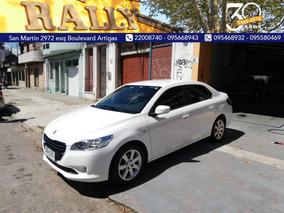 Peugeot 301 1.6 2014 Entrega U$s 6500 Financia A Sola Firma