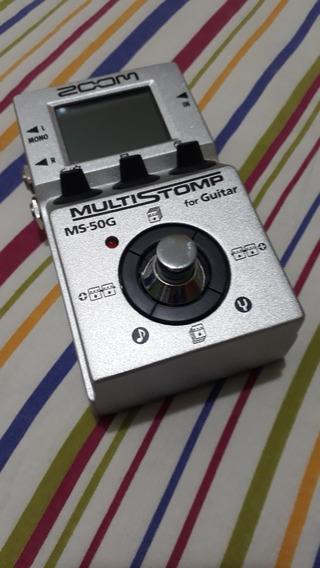 Pedal Zoom Ms50g Ms-50 Multi Efeitos