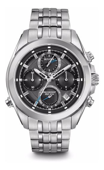 Relógio Bulova Masculino Precisionist Wb31925w 96b260 Aço