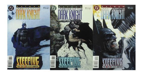 Hq Dc Batman Legends Of The Dark Knight 76-78 The Sleeping
