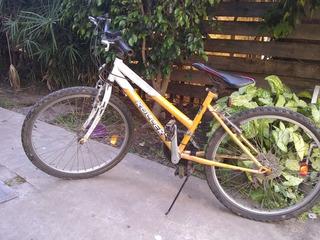 Bicicleta Roller Climber 150. Rodado 24 Con 6 Cambios