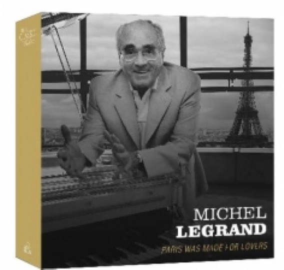 Cd Michel Legrand - Paris Was Made For Lovers (3 Cds)