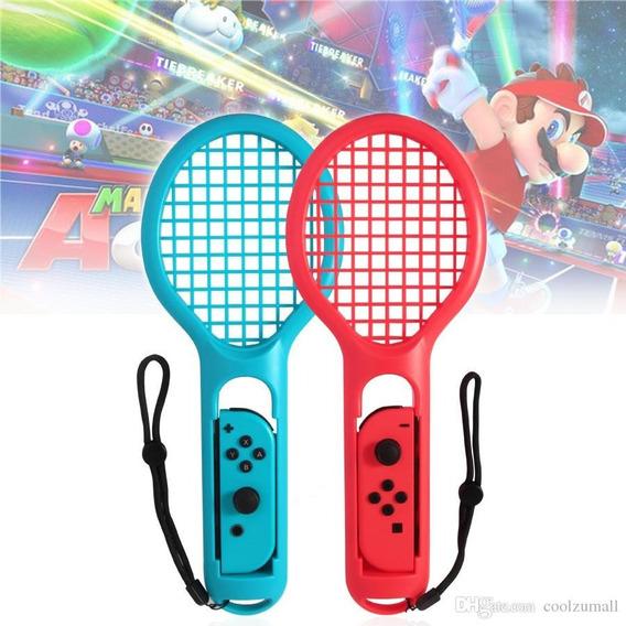 Raquete Tênis Nintendo Switch Jogo Mario Ténis Aces Twin Pac