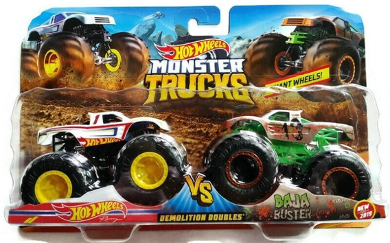 Combo Hot Wheels Mattel Monster Trucks