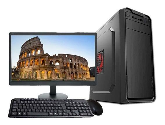 Computador Completo Core I5 8gb Hd 500gb Monitor Wifi