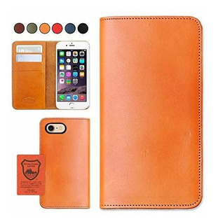 iPhone 7/8 Japan Leather Phone Funda - Camel