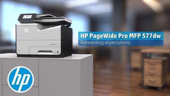 Impressora Hp Pagewide 577 (p57750dw) 70 Ppm +nf