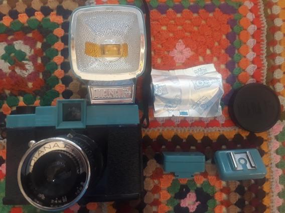 Camera Fotografica Lomography Diana F+ E Filme 120mm