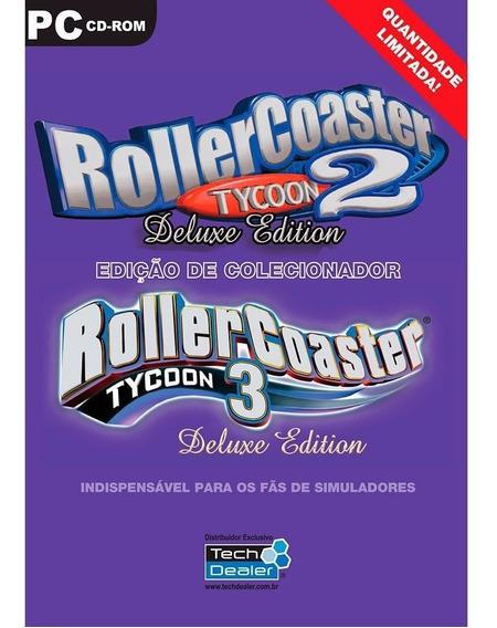 Game Roller Coaster 2 E 3 Pack Original Lacrado