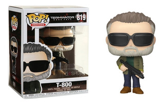 Funko Pop! T-800 #819 Terminator Dark Fate Movies