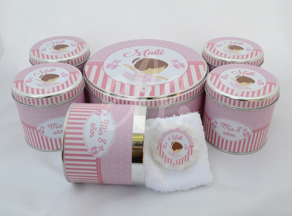 Souvenirs Latas Personalizadas 20u Med+jabon+toalla+central