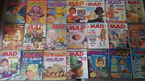 Coleção Revista Mad Editora Record Completa