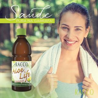 Suco Aloe Life Racco Sabor Laranja Aloe Vera Babosa