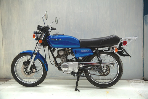 Honda Turuna 125 - 1981 81 - Apta Para Placa Preta