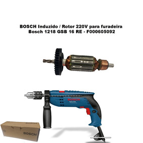 2 Induzido 220v Furadeira Bosch 1218 Gsb 16 Re - F000605092