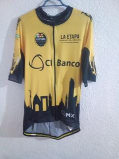 Jersey Ciclismo Rueda Vive Triunfa Talla Xg