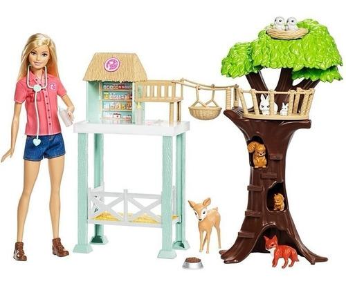 Barbie Muñeca  Rescate  Animalitos Ref: Fcp78 Mattel