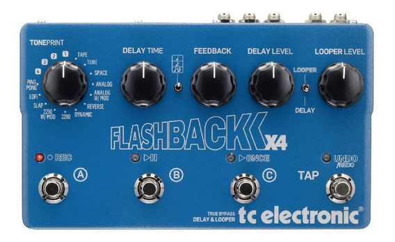 Pedal Flashback X4 - Tc Electronic