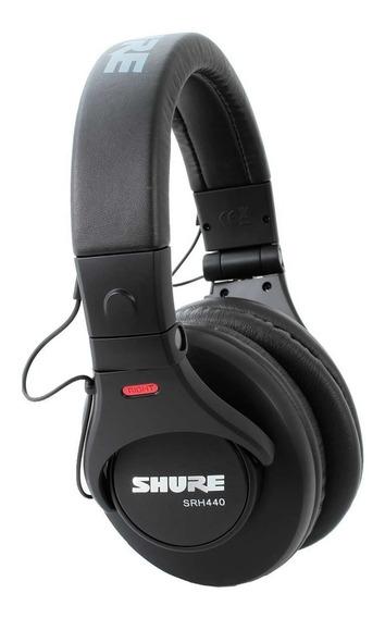 Fone Srh-440 Shure Over-ear 10 Hz - 22 Khz 44 Ohms