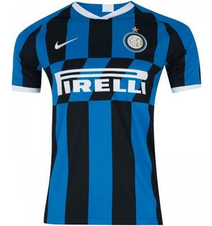 Camiseta Inter De Milão Original 2019/20 Lançamento + Frete