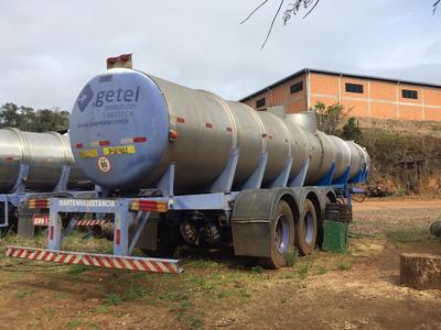 Carreta Tanque 23000lts, Transporte De Químicos.