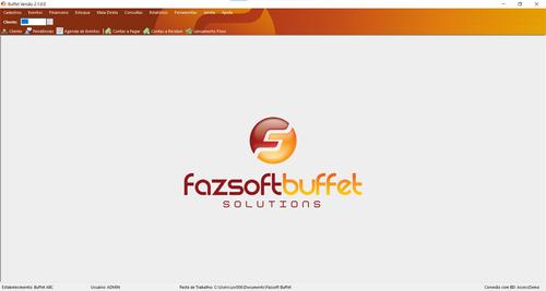 Fazsoft Buffet - Sistema / Software Para Eventos E Festas