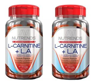 2x Emagrecedor L-carnitine + Óleo De Cártamo - Frete Gratis