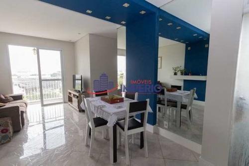 Apartamento Com 3 Dorms, Parque Novo Mundo, São Paulo - R$ 335 Mil, Cod: 6609 - V6609