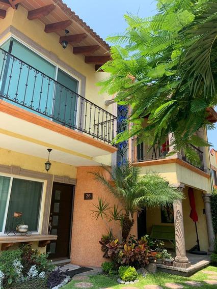 Hermosa Casa En Condominio Residencial Al Sur De Cuernavaca