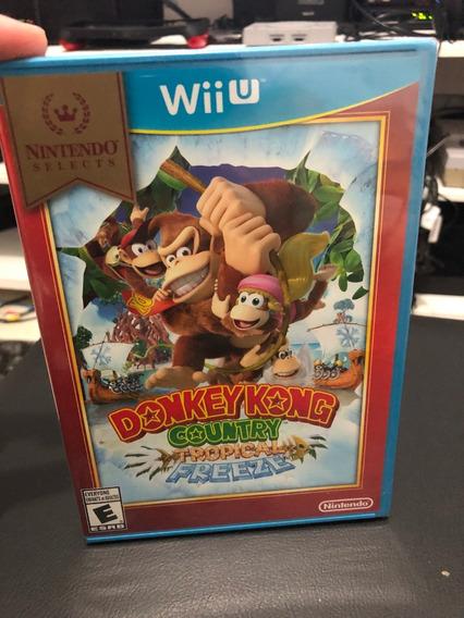 Donkey Kong Country Midia Fisica Nintendo Wii U Novo Lacrado