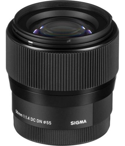 Lente Sigma 56mm F/1.4 Dc M4/3 Olympus Panasonic Blackmagic