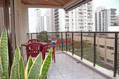 Imagem 1 de 28 de Apartamento À Venda, 130 M² Por R$ 550.000,00 - Praia Pitangueiras - Guarujá/sp - Ap3088