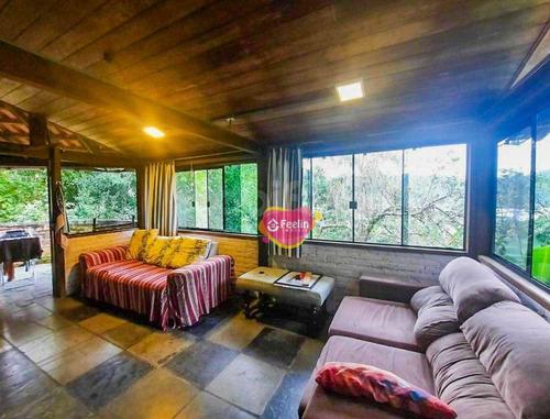 Imagem 1 de 30 de Casa Com 3 Dormitórios À Venda, 200 M² Por R$ 650.000,00 - Lagoa Da Conceição - Florianópolis/sc - Sc - Ca0013_feelin