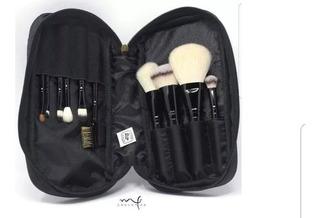 Set De Brochas De 10 Piezas Marifer Cosmetics