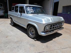 Chevrolet D-10 1981 Turbo Muito Boa Cabine Dupla Original