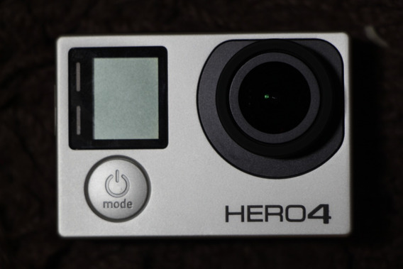 Gopro Hero 4 Silver (wi-fi - Lcd) + 3 Bat. Originais + 64gb