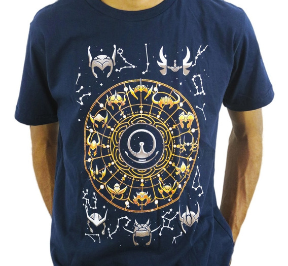 Camiseta Estilo Geek Anime Zodiac