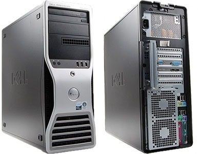 Pc Desktop Work Dell Precision T5400 Xeon 4gb 1 Tb