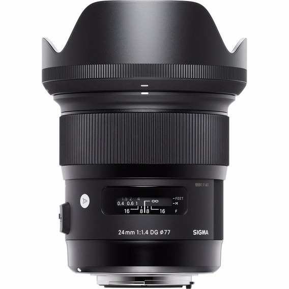 Lente Sigma Art Dg 35mm F/ 1.4 Hsm Para Nikon + Nf-e