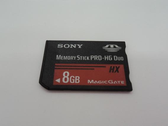 Cartão Memoria Sony 8gb Memory Stick Pro Hg Duo Hx Original